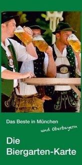 Das Beste in München und Oberbayern - Die Biergarten-Karte