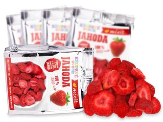 Mixit - Křupavé ovoce do kapsy - Jahoda 13 g