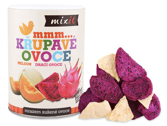 Mixit - Dračí ovoce & Meloun - Křupavé ovoce 80 g