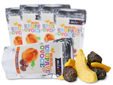 Mixit - Křupavé ovoce do kapsy - Broskev + Třešeň 20 g
