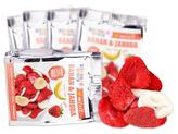 Mixit - Křupavé ovoce do kapsy - Banán + Jahoda 23 g