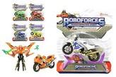 Transformer robot/motorka plast 11cm (1ks na kartě) 6 druhů