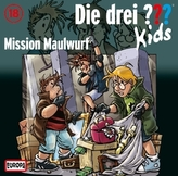 Die drei Fragezeichen-Kids - Mission Maulwurf, 1 Audio-CD