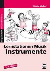 Lernstationen Musik, Instrumente
