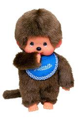 Monchhichi 20cm - kluk modrý bryndáček