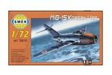 Model MiG-15 Korean War 1:72 15x14cm v krabici 25x14,5x4,5cm