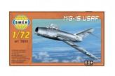 Model MiG-15 USAF 1:72 15x14cm v krabici 25x14,5x4,5cm