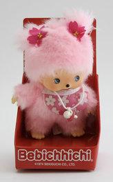 Monchhichi 15cm - růžová holka