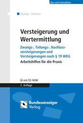 Versteigerung und Wertermittlung, m. CD-ROM