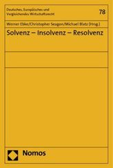 Solvenz - Insolvenz - Resolvenz