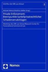 Private Enforcement: Brennpunkte kartellprivatrechtlicher Schadensersatzklagen