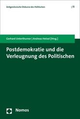 Postdemokratie und die Verleugnung des Politischen