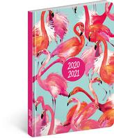 18měsíční diář Petito – Plameňáci 2020/2021