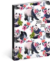 18měsíční diář Petito – Pandy 2020/2021