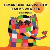 Elmar und das Wetter. Elmer's Weather