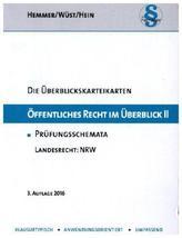 Öffentliches Recht im Überblick, Landesrecht NRW, Karteikarten. Tl.2