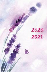 Diář 2020-2021 Levandule/18 měsíční