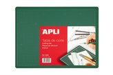 APLI řezací podložka oboustranná 300 x 200 mm PVC - zelená