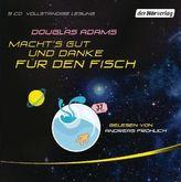 Macht's gut und danke für den Fisch, 5 Audio-CDs