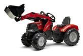 Traktor šlapací Case IH Puma 240CVX s přední lžící a valníkem