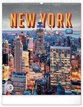 Kalendář 2021 nástěnný: New York, 48 × 56 cm