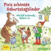 Pixis schönste Geburtstagslieder, 1 Audio-CD