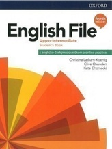 English File Upper Intermediate Student´s Book with Student Resource Centre Pack 4th (CZEch Edition)