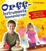 Orff-Instrumente kennenlernen