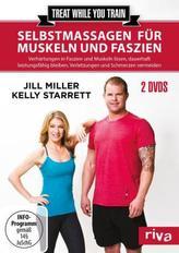Treat while you train - Selbstmassagen für Muskeln und Faszien, 2 DVDs