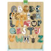 Vilac displej pro zvířátkovou abecedu