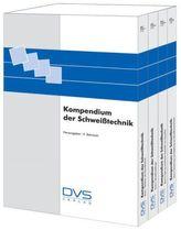 Kompendium der Schweißtechnik, 4 Bde.