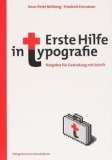Erste Hilfe in Typografie
