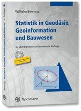 Statistik in Geodäsie, Geoinformation und Bauwesen, m. CD-ROM