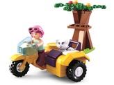 Sluban Girls Dream Holidays M38-B0600C Motocykl s postranním vozíkem