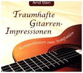 Traumhafte Gitarren-Impressionen, 1 CD-Audio