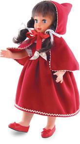 Petitcollin Panenka Červená karkulka 40 cm