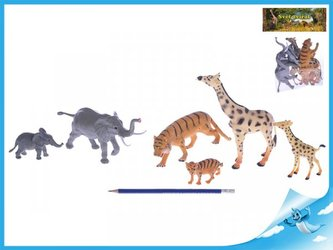 Zvířátka Safari samice a mláďaty