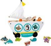 Small Foot  Dřevěná loď s vkládáním mořských zvířátek