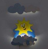 DoDo Dětská LED lampička sluníčko s mráčky