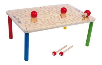 Small Foot Dřevěná motorická hra Stůl hra s magnety