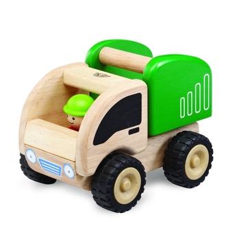 Wonderworld Dřevěné auto mini popelář