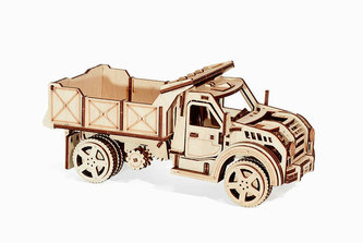 Wood Trick 3D mechanické puzzle - Nákladní auto