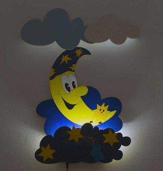 DoDo Dětská LED lampička měsíček