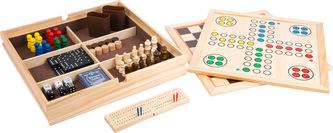 Small Foot Dřevěný soubor her 9v1