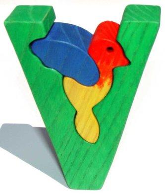 Fauna Abeceda písmeno V ptáček