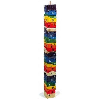 Small Foot Nasazování na tyč dřevěná mega věž