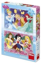 Princezny 2x77 Puzzle nové