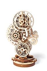 Ugears 3D dřevěné mechanické puzzle Steampunk hodiny