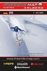 Freeride Map Arlberg