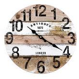 Dřevěné hodiny - London